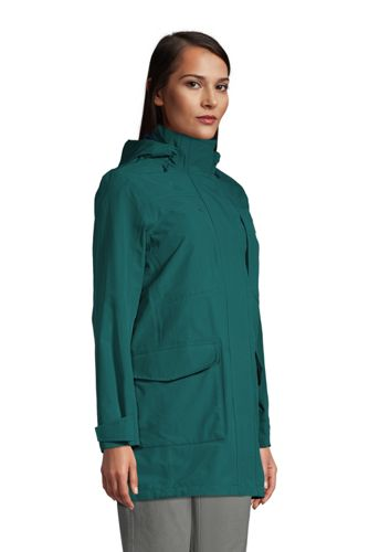 Women's Squall Waterproof Raincoat with Hood