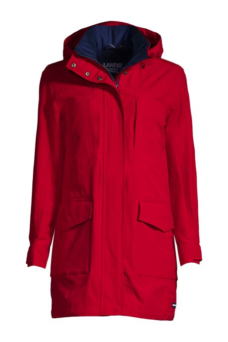 Women's Squall Waterproof Raincoat with Hood