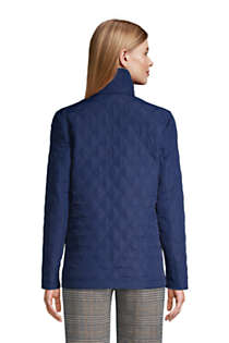 Women's Insulated Packable Quilted Barn Jacket, Back