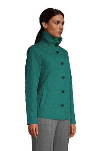 Women's Tall Insulated Packable Quilted Barn Jacket