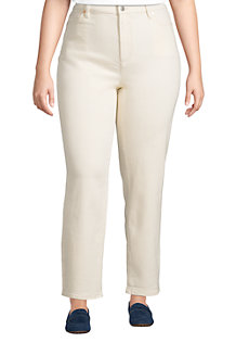 Women's High Waisted Straight Leg Stretch Jeans
