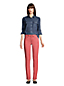 Women's Mid Rise Straight Leg Stretch Coloured Jeans