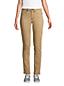 Jean Droit Strech Taille Mi-Haute Teinté, Femme Stature Standard