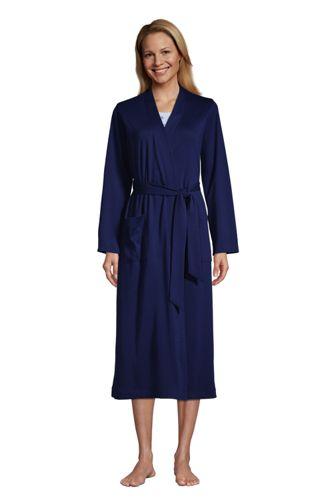 Robe de Chambre en Coton Supima, Femme Stature Standard