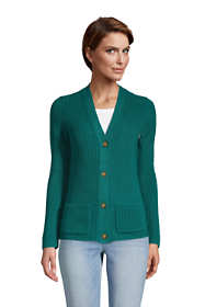 Women's Cotton Cable Drifter Cardigan Sweater