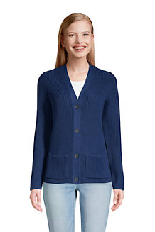 Women's Long Sleeve Drifter Shaker Stitch Cardigan