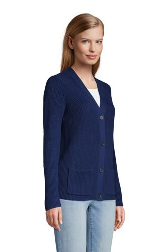 Women's Drifter Cotton Shaker Cardigan Sweater