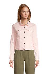 Women's Petite Denim Trucker Jacket