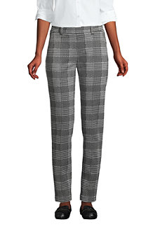 Pantalon Fuselé Sport Knit Jacquard Taille Haute, Femme