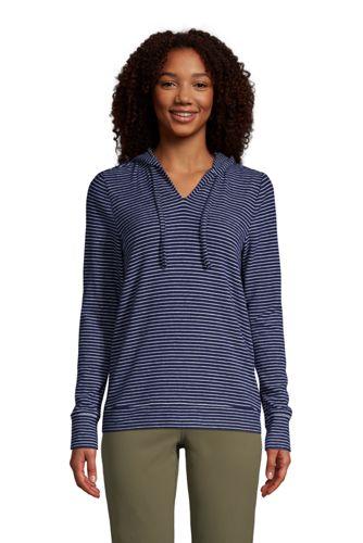 Women's Long Sleeve Cosy Brushed Jersey Loungewear Hoodie