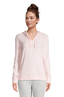 Women's Long Sleeve Cosy Brushed Jersey Loungewear Hoodie