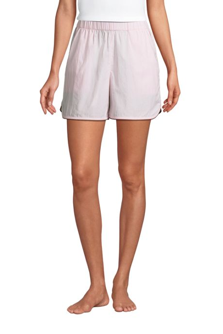 Women's Cotton Poplin Pajama Shorts