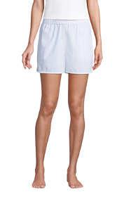 Women's Cotton Poplin Pajama Shorts