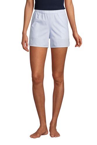Women's Cotton Poplin Pyjama Shorts