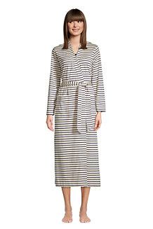 Women's Supima Cotton Mid-calf Robe