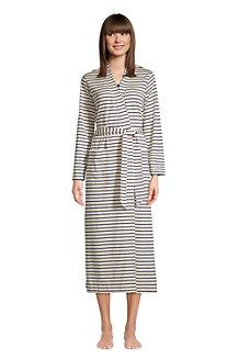 Women's Supima Cotton Mid-calf Robe