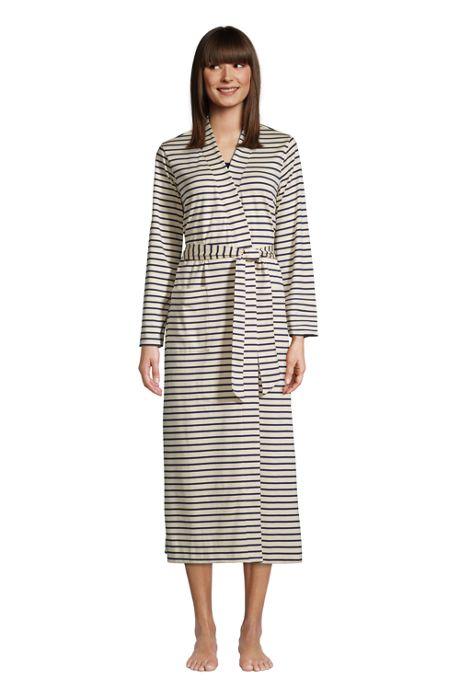Women's Petite Supima Cotton Long Robe