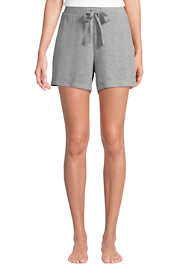 "Women's Lounge 5"" Tie Waist Cozy Pajama Shorts"