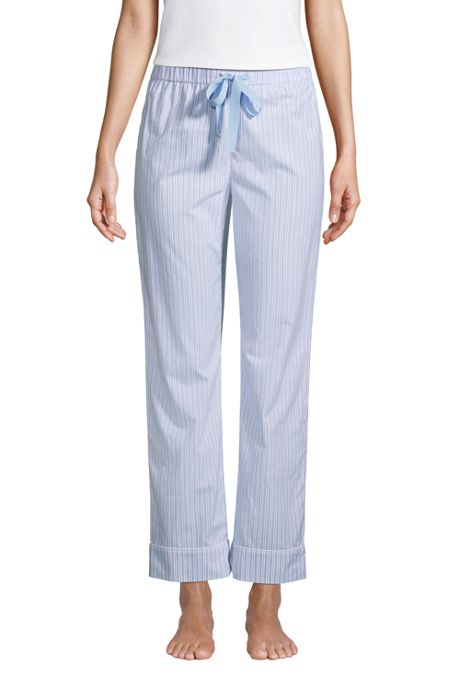 Women's Cotton Poplin Pajama Pants