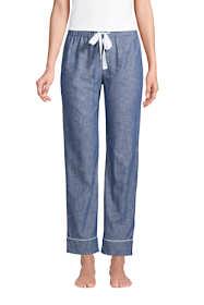 Women's Cotton Chambray Pajama Pants