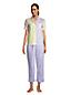 Popelin-Pyjamahemd für Damen in Plus-Größe