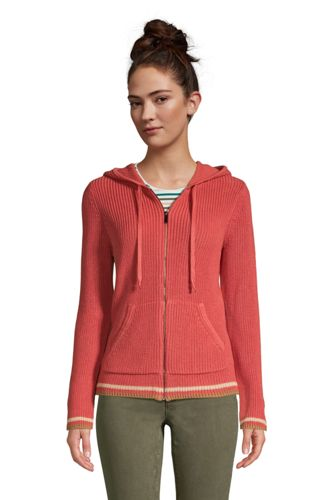 Women's Drifter Long Sleeve Zip Front Hooded Cardigan