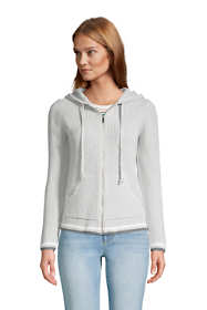 Women's Cotton Drifter Zip Up Hoodie Cardigan Sweater