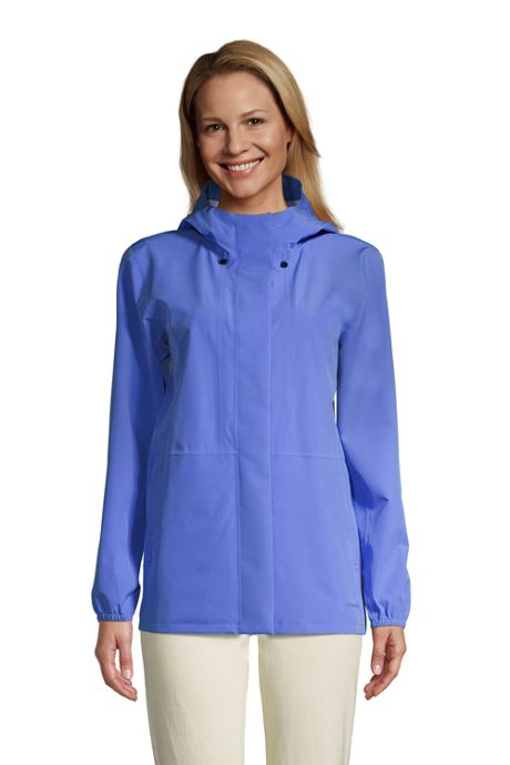 Women's Petite Waterproof Rain Jacket