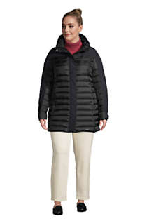 Women's Plus Size Squall Down Insulated Winter Coat with Hood, alternative image
