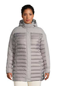 Women's Plus Size Squall Down Insulated Winter Coat with Hood