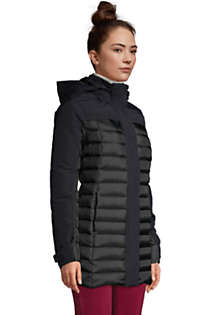 Women's Petite Squall Down Insulated Winter Coat with Hood, alternative image