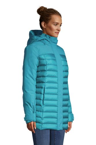 Women's Petite Squall Down Insulated Winter Coat with Hood