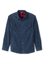 Men's Big and Tall Flannel Lined Work Shirt