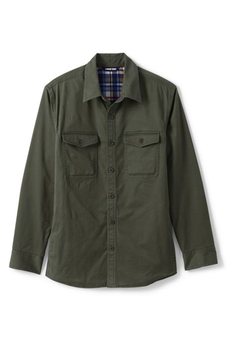 Men's Flannel Lined Work Shirt