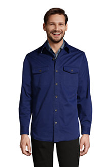 Men's Flannel Lined Work Shirt