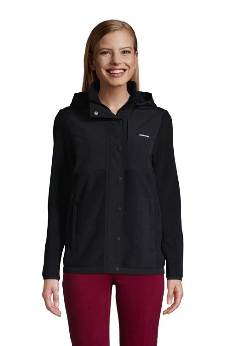 Women's Petite Fleece Heritage Full Zip Jacket