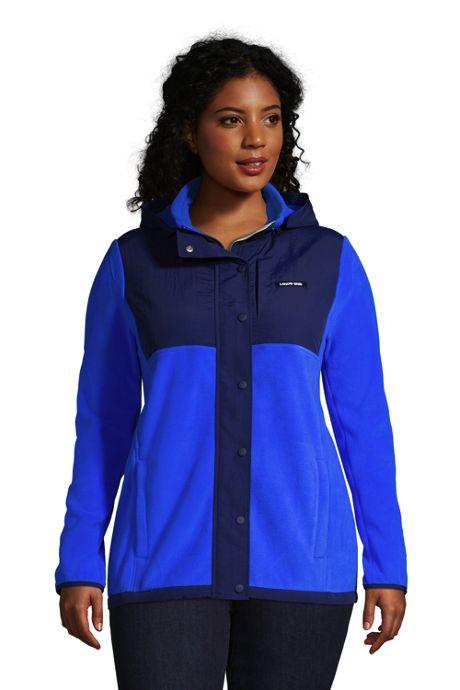 Women's Plus Size Fleece Heritage Full Zip Jacket