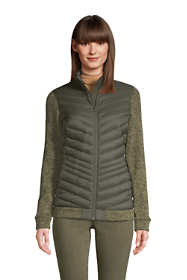 Women's Ultralight Down Packable Sweater Fleece Jacket