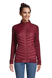 Women's Ultralight Down/Sweater Fleece Packable Jacket