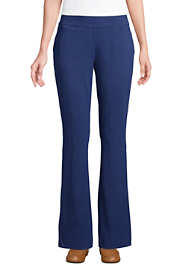 Women's Tall Starfish Mid Rise Bootcut Elastic Waist Pull On Pants