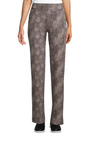 Women's Tall Starfish Mid Rise Straight Leg Elastic Waist Pull On Pants