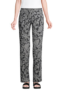 Gemusterte Stretch-Freizeithose Straight Fit Starfish Pant