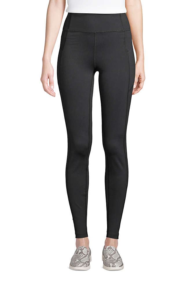 Women's Active High Rise Compression Slimming Pocket Leggings, Front