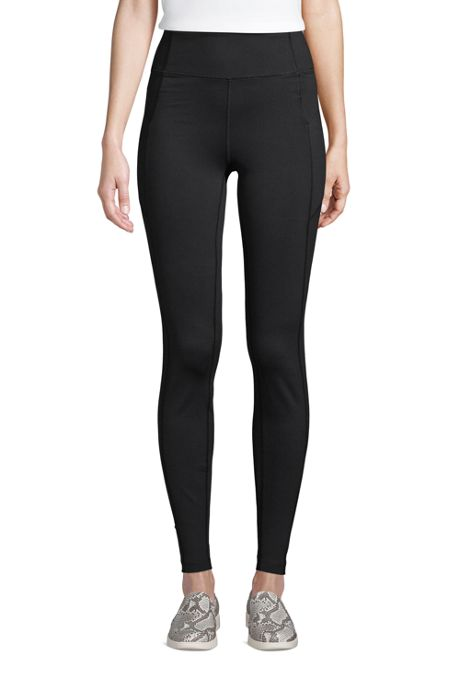 Women's Tall Active High Rise Compression Slimming Pocket Leggings