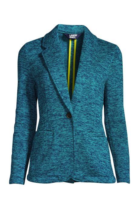 Women's Sweater Fleece Blazer