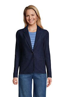 Soft Denim Jerseyblazer SPORT KNIT für Damen