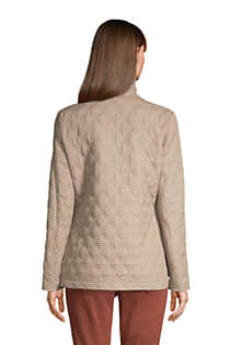 Women's Insulated Packable Quilted Barn Jacket Print, Back