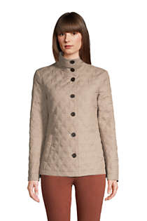 Women's Insulated Packable Quilted Barn Jacket Print, Front