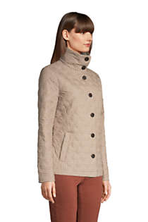 Women's Insulated Packable Quilted Barn Jacket Print, alternative image