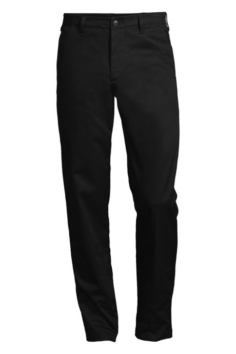 Men's Tailored Fit Plain Front Chino